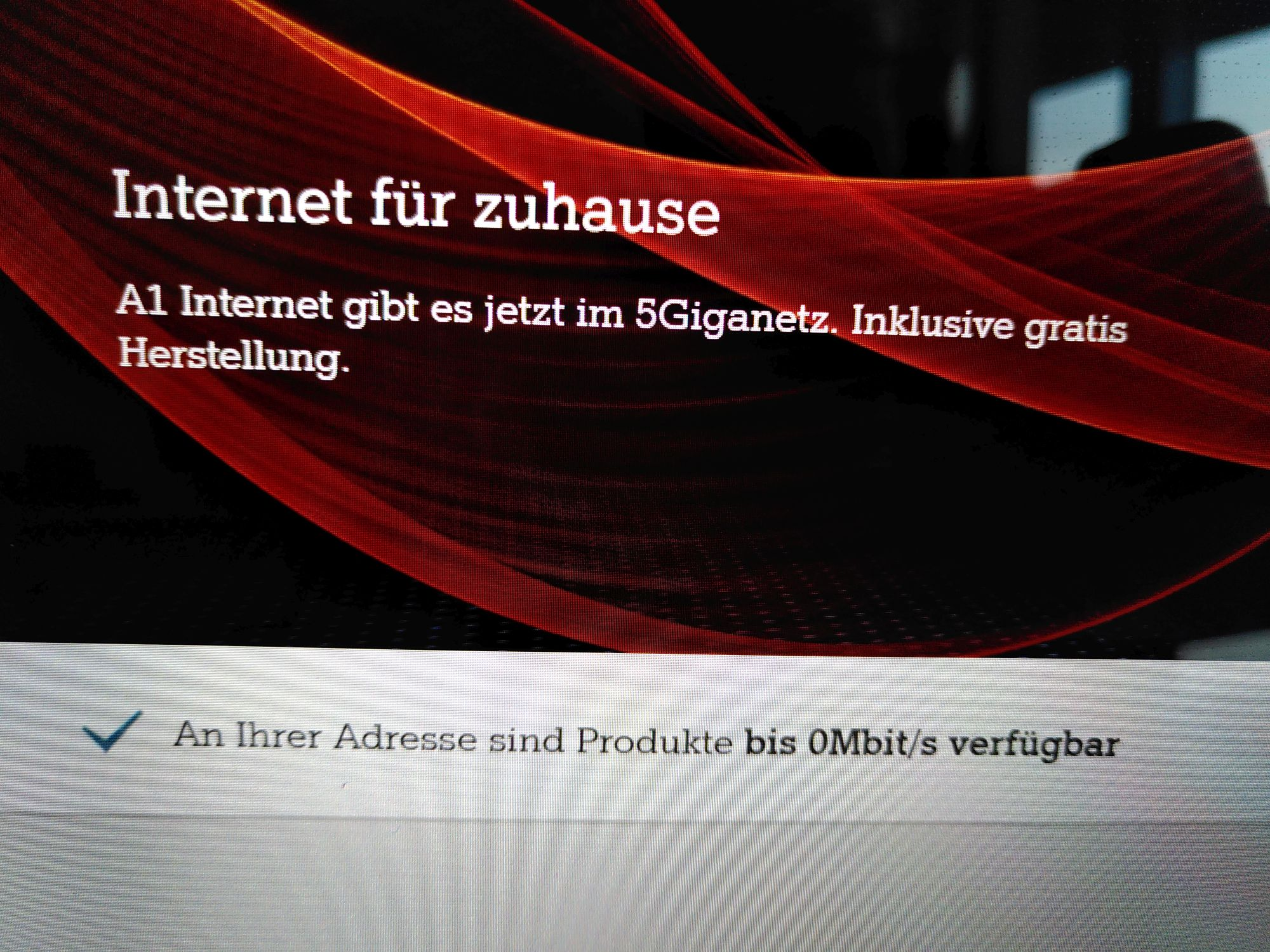 Internet für zuhause